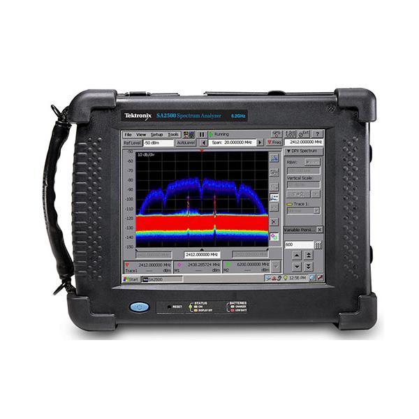TEKTRONIX H500] 휴대용 스펙트럼 분석기(125μs) > 스펙트럼